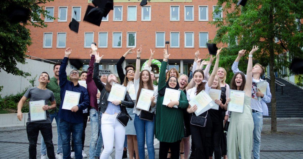 Mavo-klas: allemaal een diploma