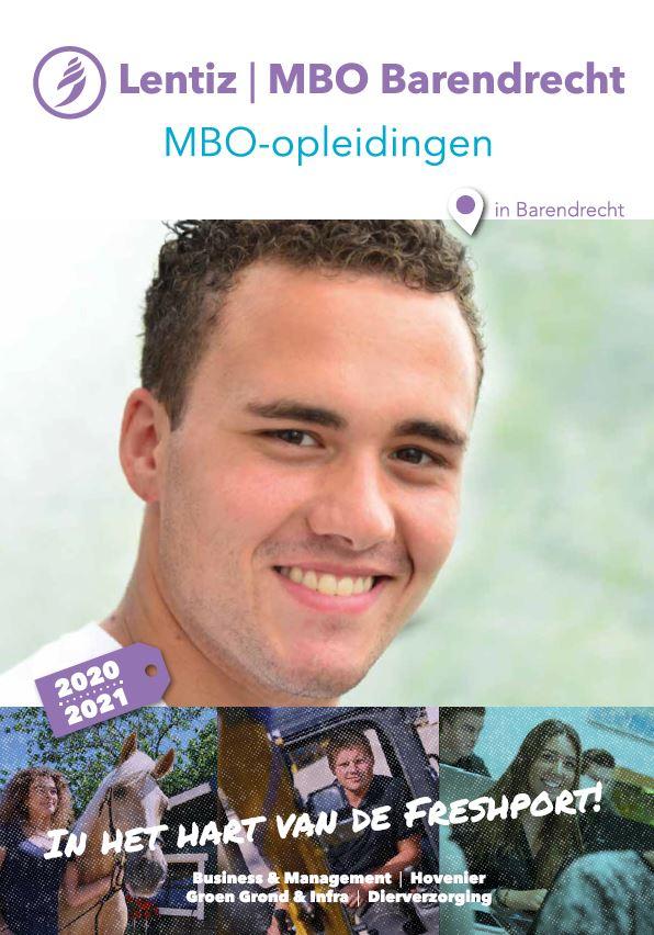 voorkant brochure Lentiz | MBO Barendrecht