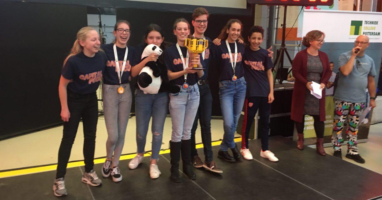 Winnaars First Lego League