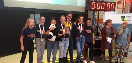 Winnaars First Lego League