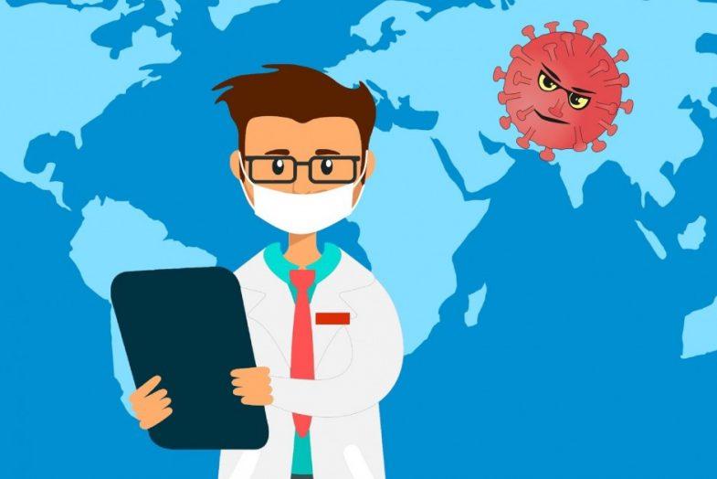 Arts met coronavirus