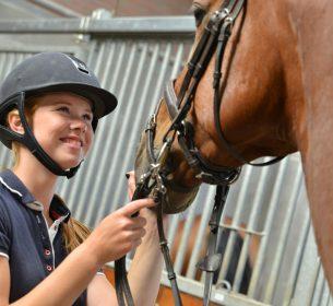 Paardensport_student met paard