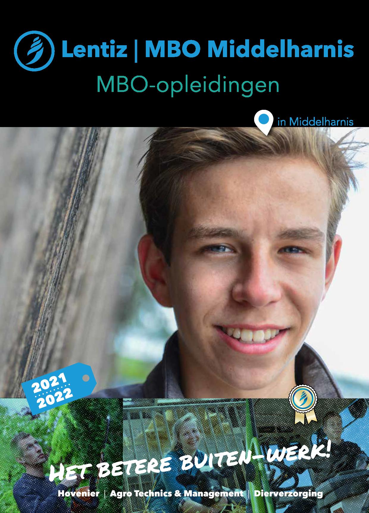 voorkant brochure Lentiz | MBO Middelharnis