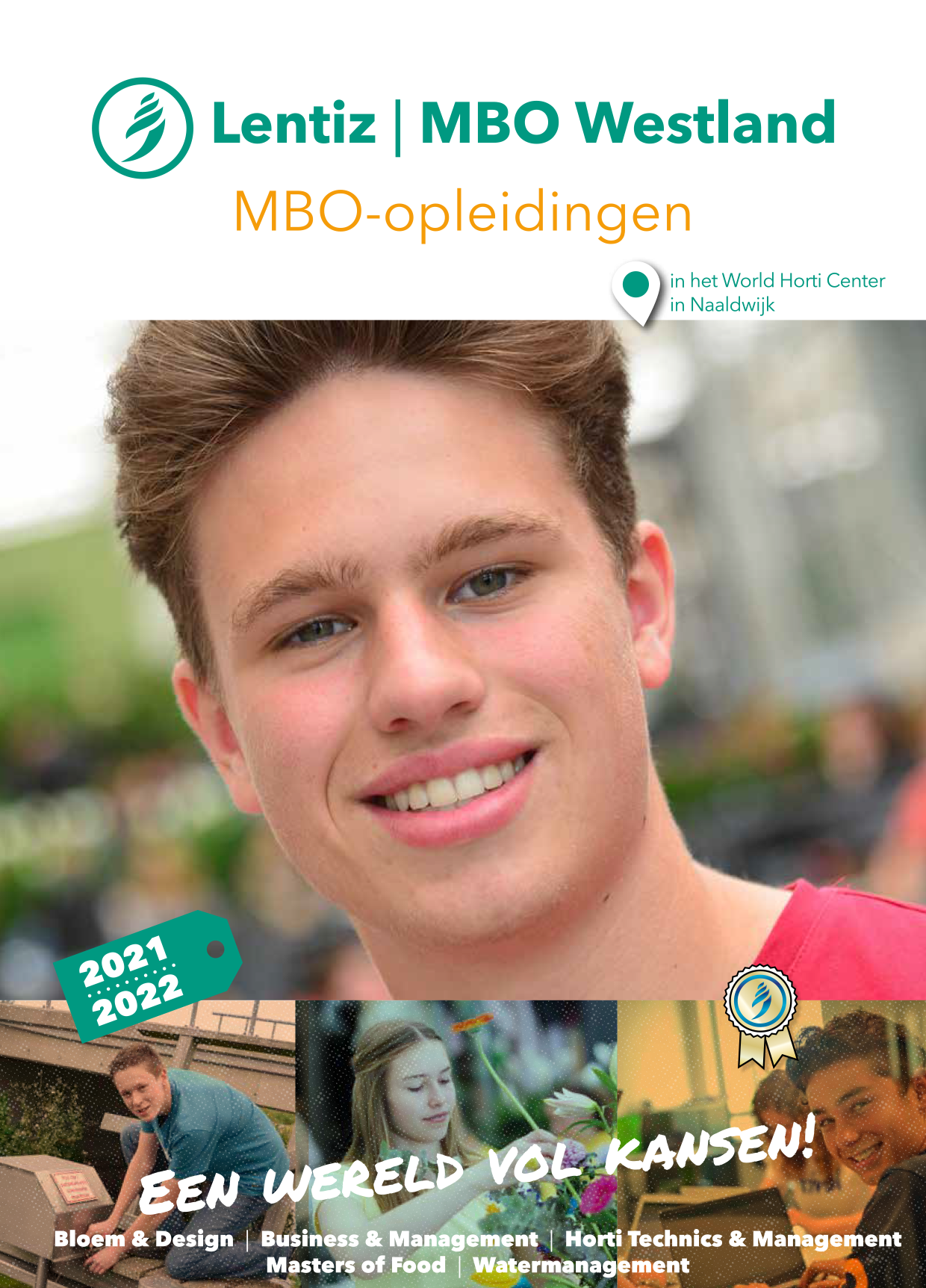 voorkant brochure Lentiz | MBO Westland