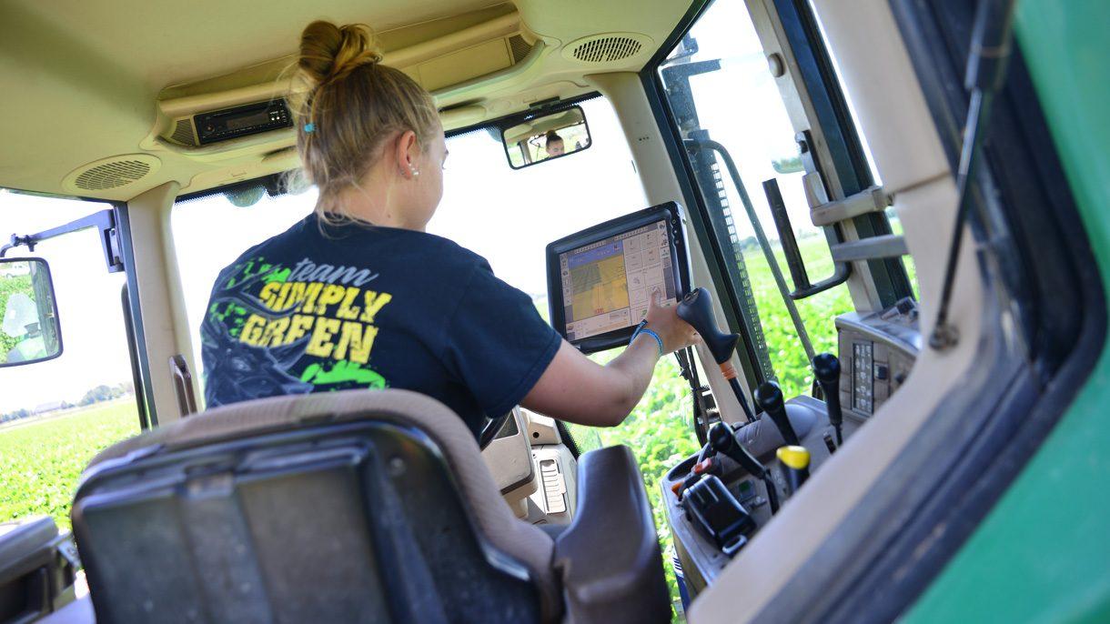 Loonwerk instellen GPS