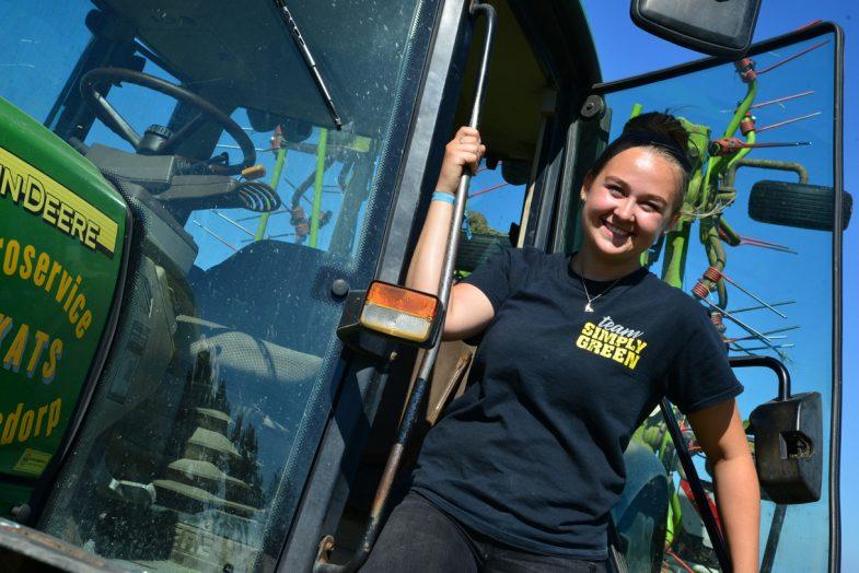 Loonwerkstudent tractor