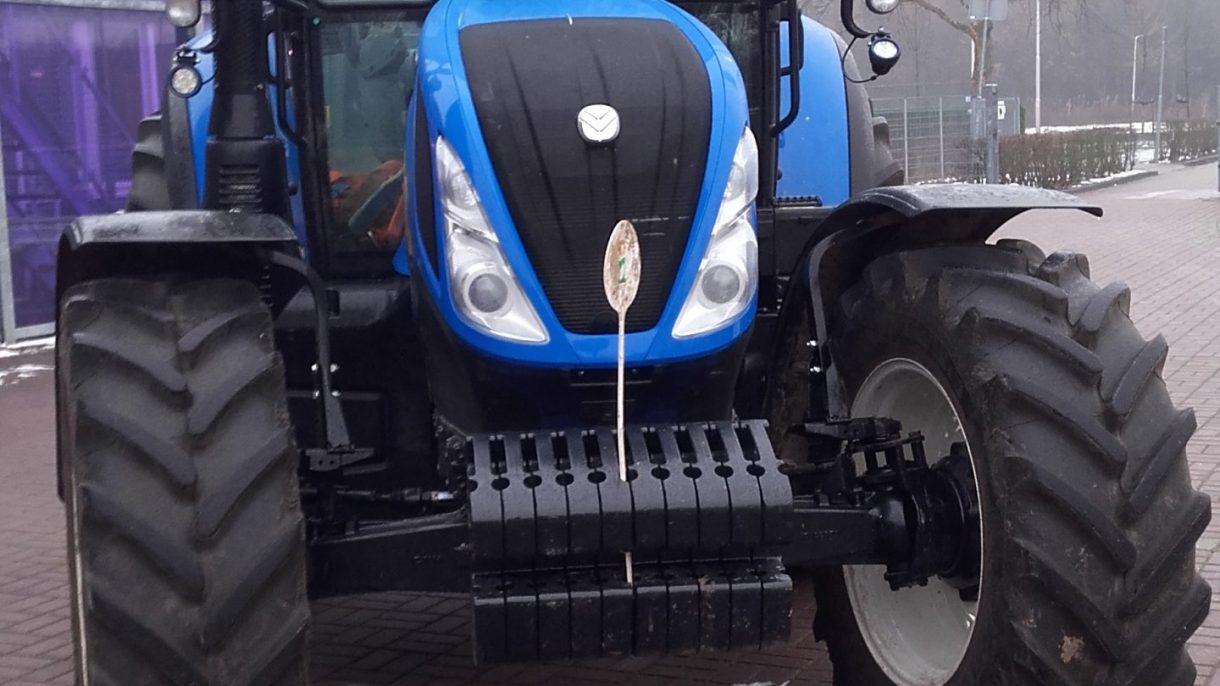 Traktor ingang