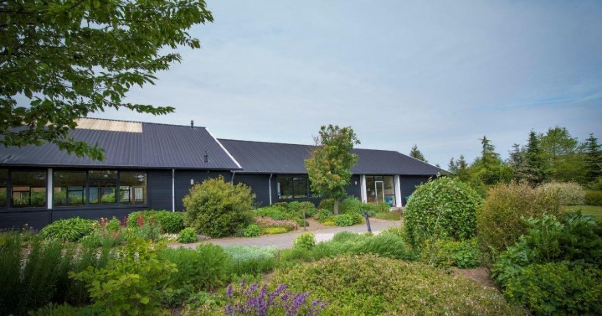 Schoolgebouw aan de Groene Zoom