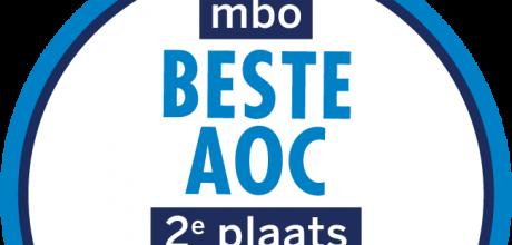 Kwaliteitszegel beste AOC 2e plaats