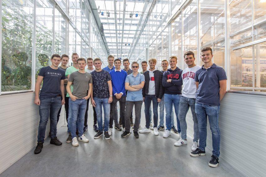 Studenten Horti Technics Management.