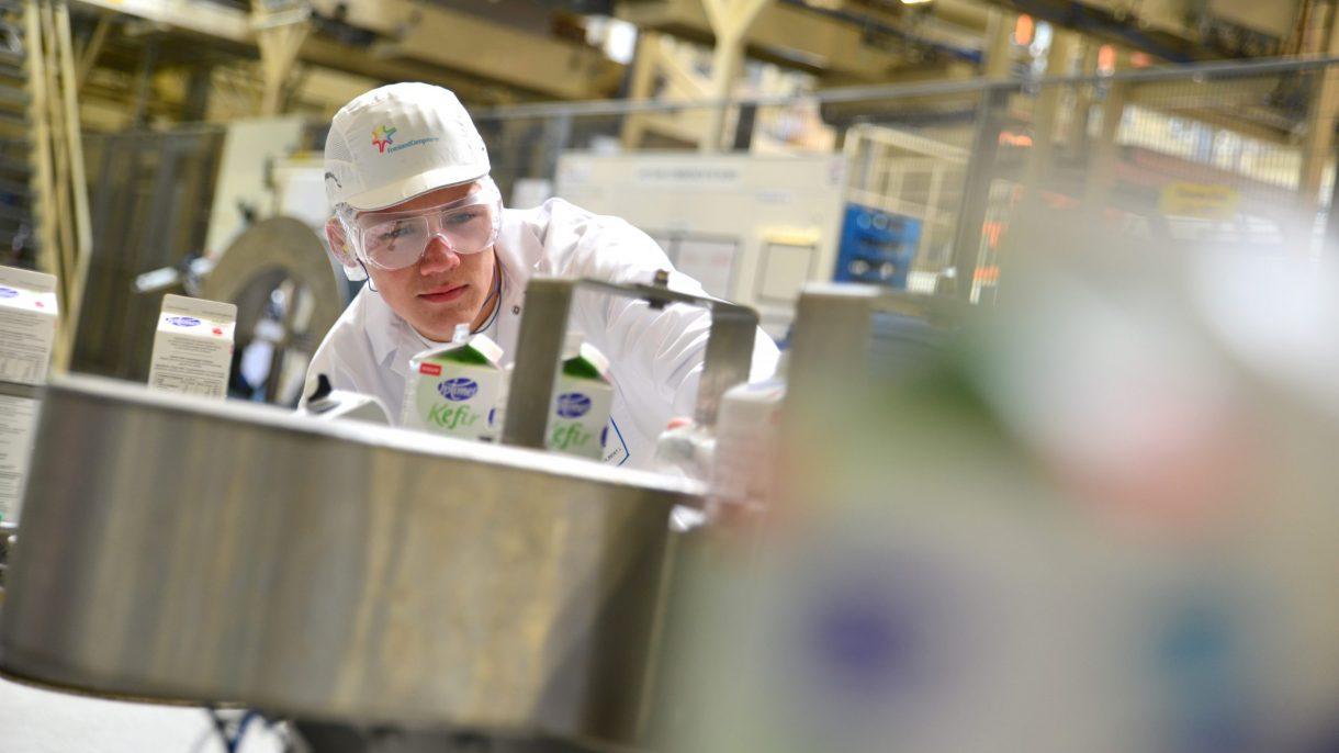 Student Food in zuivelfabriek