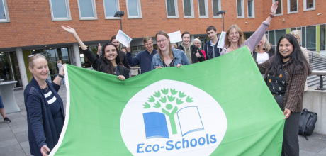 Eco-school LIFE College wederom Groene Vlag