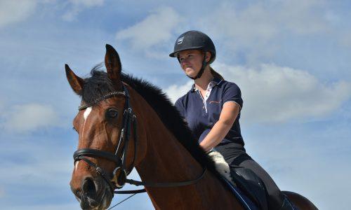 Leerling op paard