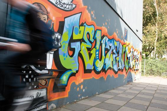Graffiti Geuzencollege