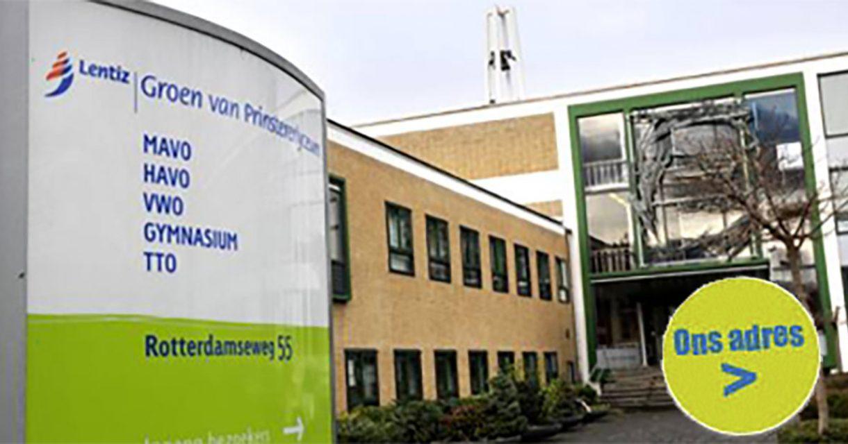 schoolgebouw Groen van Prinstererlyceum