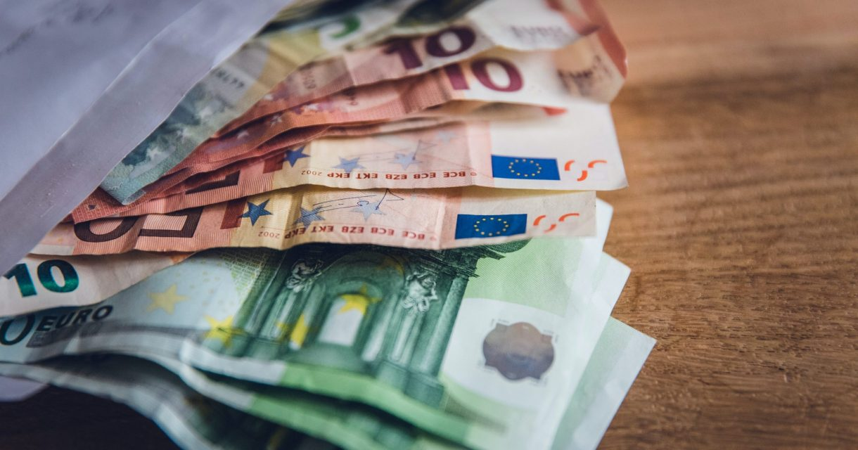 schoolgeld eurobiljetten