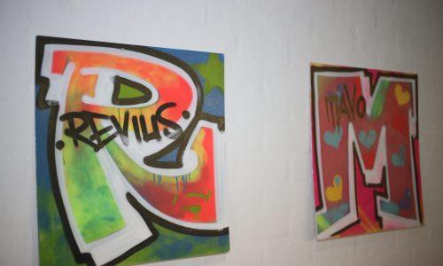 Graffiti letters reviusmavo