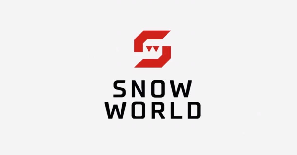 logo van snowworld